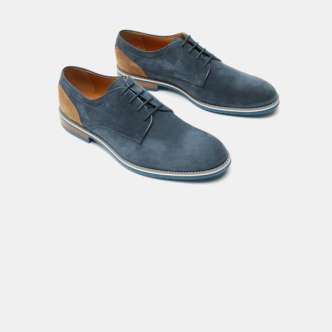Chaussures à lacets homme bata, Bleu, 823-9115 - 16