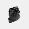 Sac  hobo en cuir bata, Noir, 964-6355 - 15