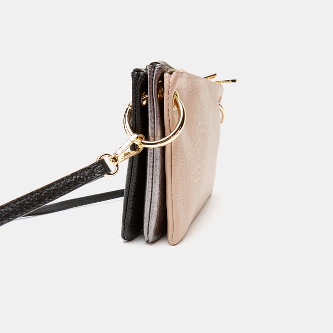 Pochette en cuir bata, Noir, 964-6366 - 17