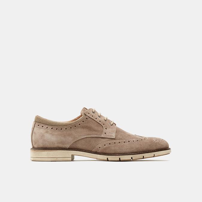Chaussures à lacets homme flexible, Gris, 823-2193 - 13
