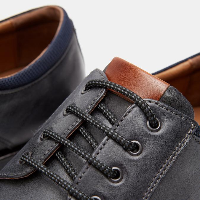Chaussures à lacets homme flexible, Bleu, 824-9780 - 26
