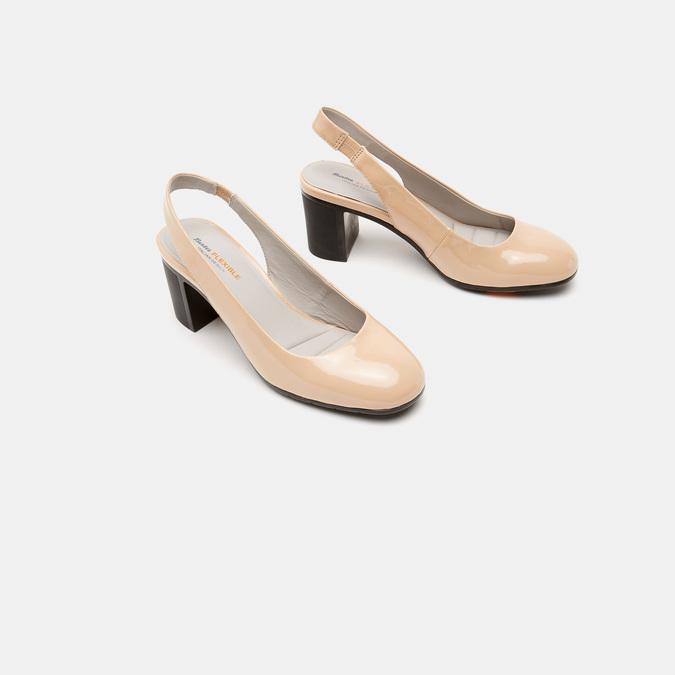 Sandales à talons ouverts et bout arrondi flexible, Rouge, 621-5241 - 16
