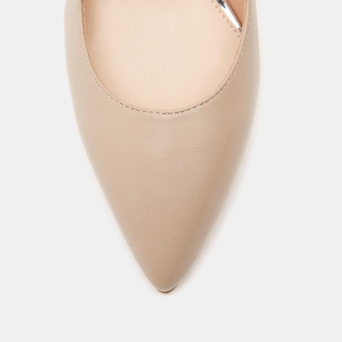 Sandales à bout pointu et talon ouvert bata, Rouge, 624-5243 - 15