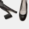 Sandales à talon ouvert et bout arrondi flexible, Noir, 624-6241 - 19