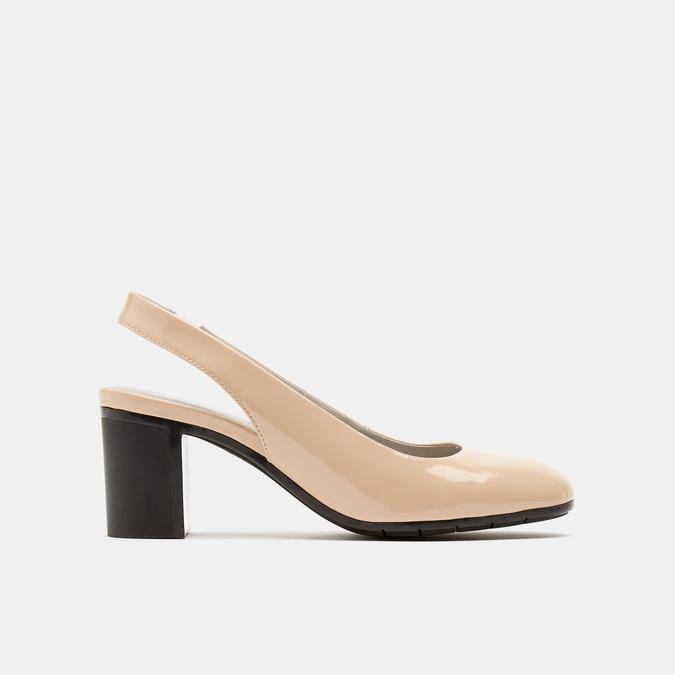 Sandales à talons ouverts et bout arrondi flexible, Rouge, 621-5241 - 13