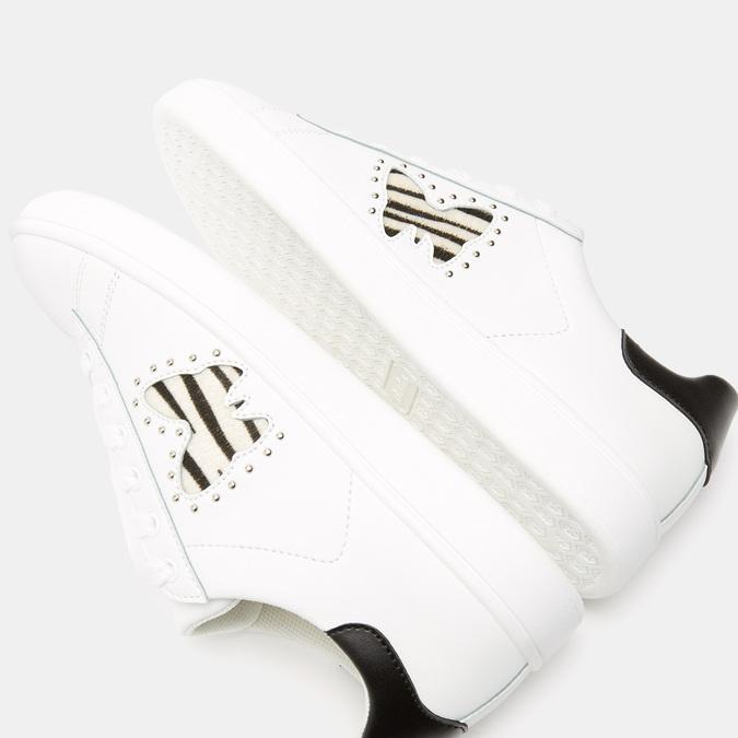 Baskets femme bata, Blanc, 541-1763 - 15