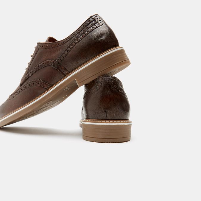 Chaussures à lacets homme bata-rl, Brun, 824-3132 - 17