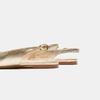 Ballerines en cuir et à talons ouverts bata, Or, 524-8533 - 19