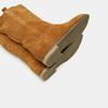 Bottes en suède bata, Jaune, 593-8103 - 17