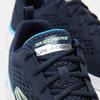 Tennis homme skechers, Bleu, 809-9281 - 16
