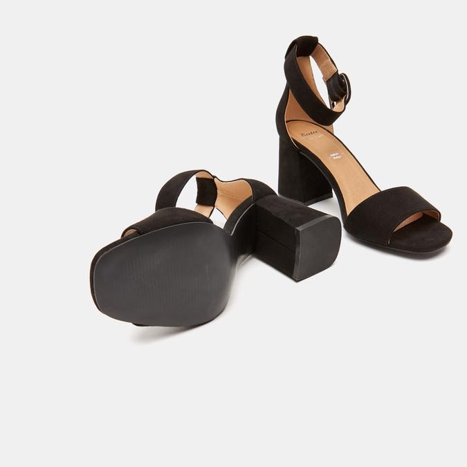 Sandales à bride autour de la cheville bata, Noir, 769-6893 - 15