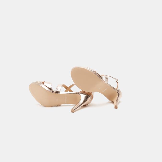 Sandales à talon aiguille bata, Rose, 761-5879 - 19