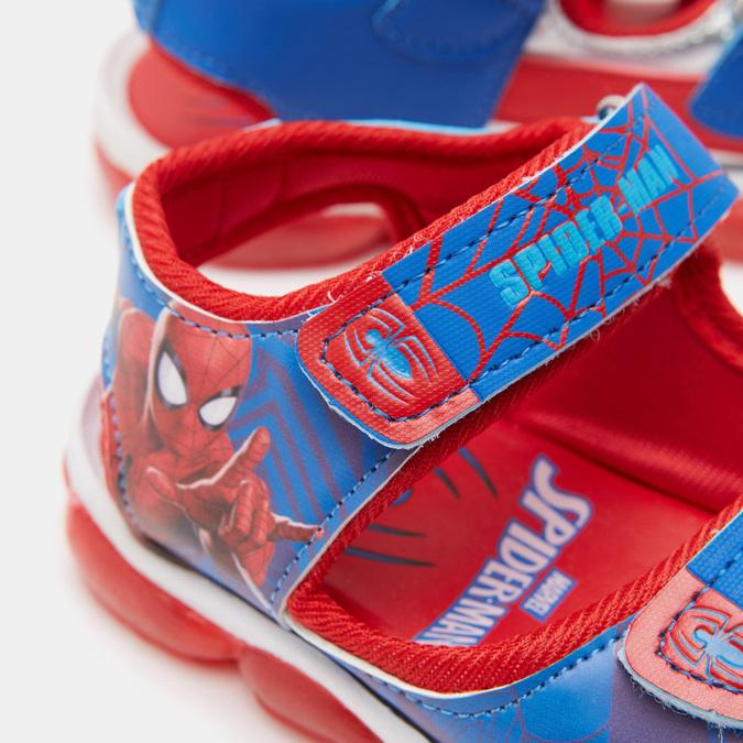 Sandales garçon Spiderman spiderman, Bleu, 261-9122 - 16