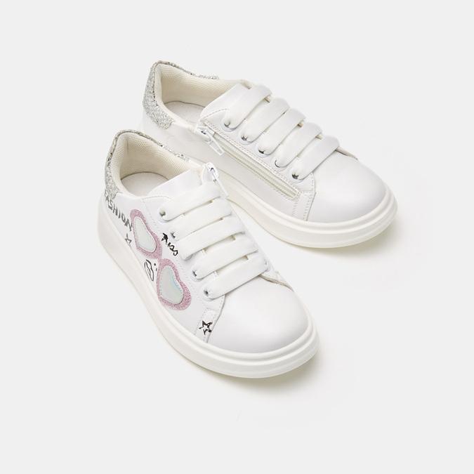 Baskets enfant mini-b, Blanc, 321-1106 - 19