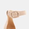 Sandales à bride autour de la cheville bata, Rouge, 769-5893 - 26