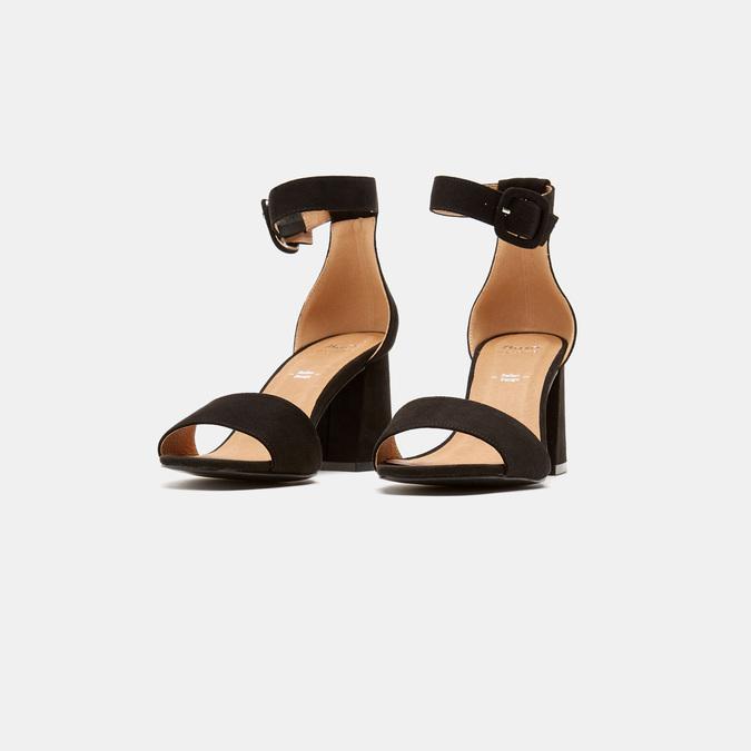 Sandales à bride autour de la cheville bata, Noir, 769-6893 - 17