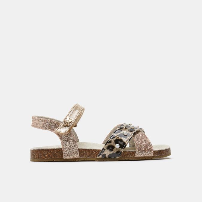 Sandales fille lulu, Or, 369-3110 - 13