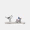 Sandales fille lulu, Argent, 361-2111 - 13