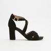 Sandales à bride autour de la cheville bata, Noir, 769-6891 - 13