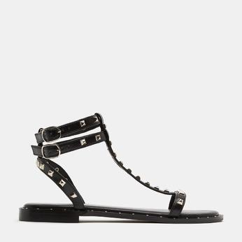 Sandales cloutées bata, Noir, 561-6838 - 13