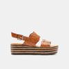 Sandales à plateforme bata, Brun, 761-4886 - 13