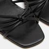 Sandales à demi-talon et à bride autour de la cheville bata, Noir, 761-6884 - 19