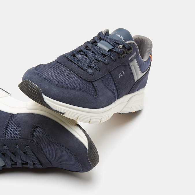 Tennis homme flexible, Bleu, 843-9145 - 19