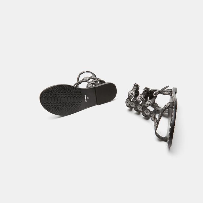 Sandales femme bata, Noir, 564-6830 - 15