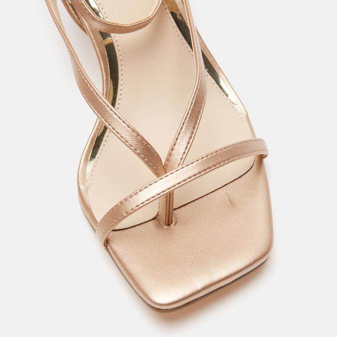 Sandales à talon bata, Rose, 661-5497 - 16