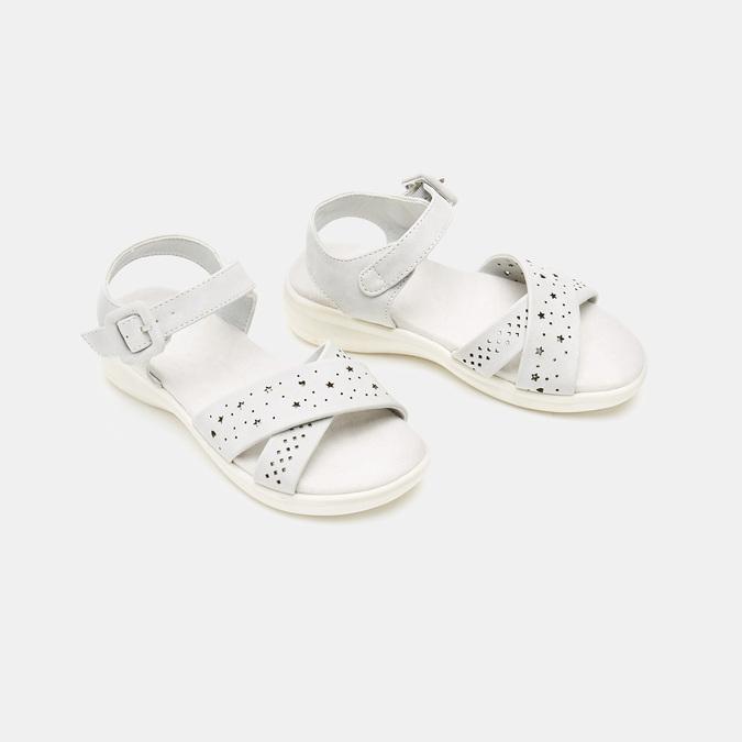 Sandales fille mini-b, Gris, 361-2429 - 26