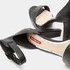 Sandales à bride autour de la cheville bata-rl, Noir, 761-6855 - 15