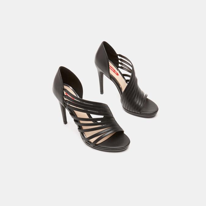 Sandales à talon aiguille bata-rl, Noir, 761-6854 - 16