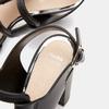 Sandales à talon large bata, Noir, 761-6849 - 17