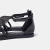 Sandales à bride bata, Noir, 564-6710 - 19