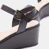 Sandales à plateforme bata, Noir, 764-6882 - 16
