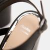 Sandales à talon large bata, Noir, 761-6850 - 19