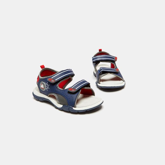 Sandales garçon mini-b, Bleu, 361-9397 - 16