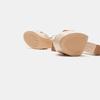 Sandales à talon large bata, Rouge, 761-5874 - 17