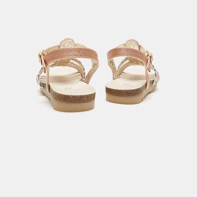 Sandales fille mini-b, Rose, 361-5413 - 17