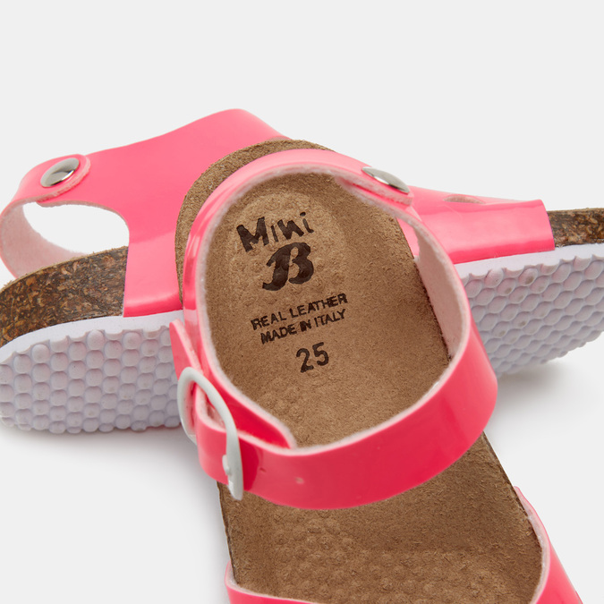 Sandales fille mini-b, Rouge, 261-5267 - 16