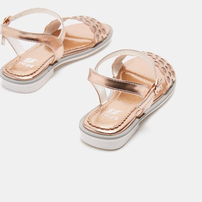 Sandales fille mini-b, Rose, 361-5414 - 19