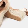 Sandales compensées bata, Brun, 769-3868 - 16
