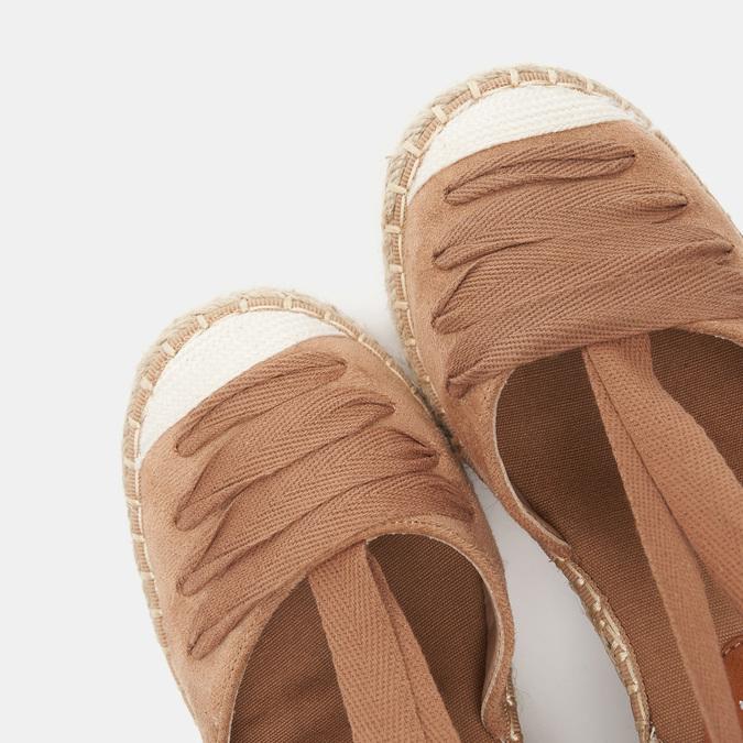 Sandales compensées bata, Brun, 769-3868 - 17