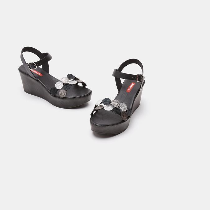 Sandales à plateforme bata-rl, Noir, 764-6989 - 16