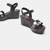 Sandales à plateforme bata-rl, Noir, 764-6989 - 19