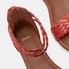 Sandales femme bata, Rouge, 561-5824 - 17