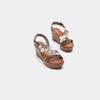 Sandales à plateforme bata-rl, Brun, 764-4990 - 16