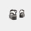 Sandales femme à plateforme bata, Noir, 661-6518 - 15