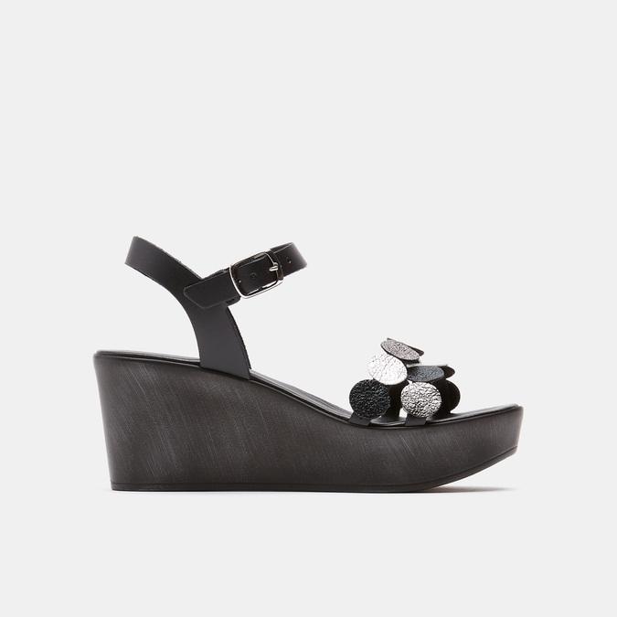 Sandales à plateforme bata-rl, Noir, 764-6989 - 13