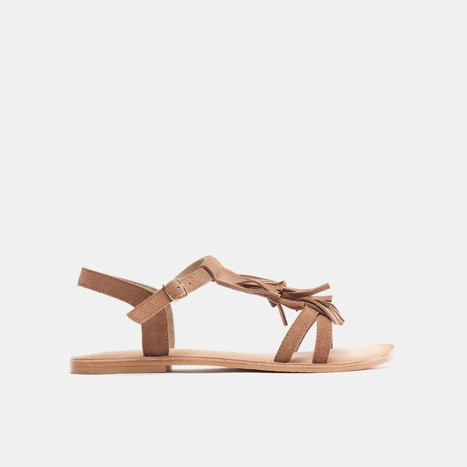 Sandales femme bata, Brun, 563-3844 - 13